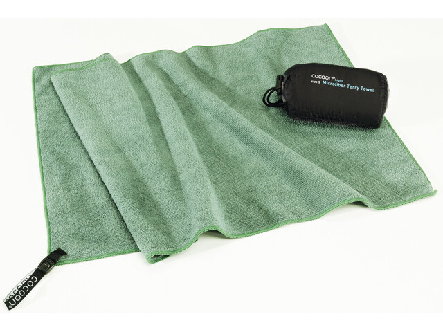 Cocoon Microfiber Terry Serviette pour chien Léger X-Large, bamboo green